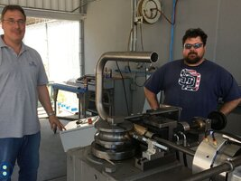 Commissioning of a mandrel bending machine at California Sheet Metal