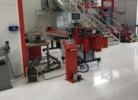 Commissioning of a mandrel bending machine at KTM in Austria